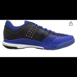 adidas Shoes - Adidas Woman's Crazyflight X Royal Blue Sneakers 7